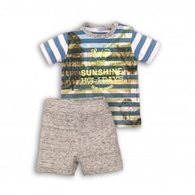 Tricou cu pantaloni scurti enjoy_24147_grey_A29-20